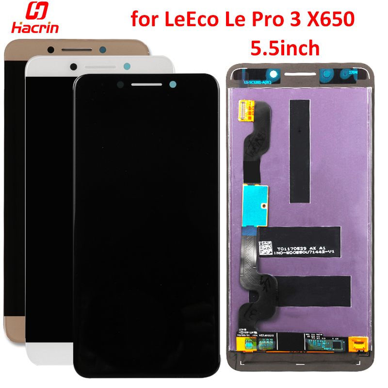 For LeEco <font><b>Le</b></font> Pro 3 X650 LCD Screen AAA Display Touch Screen Replacement for Letv <font><b>Le</b></font> Pro 3 Dual AI <font><b>X651</b></font> X656 X658 X659 5.5inch image