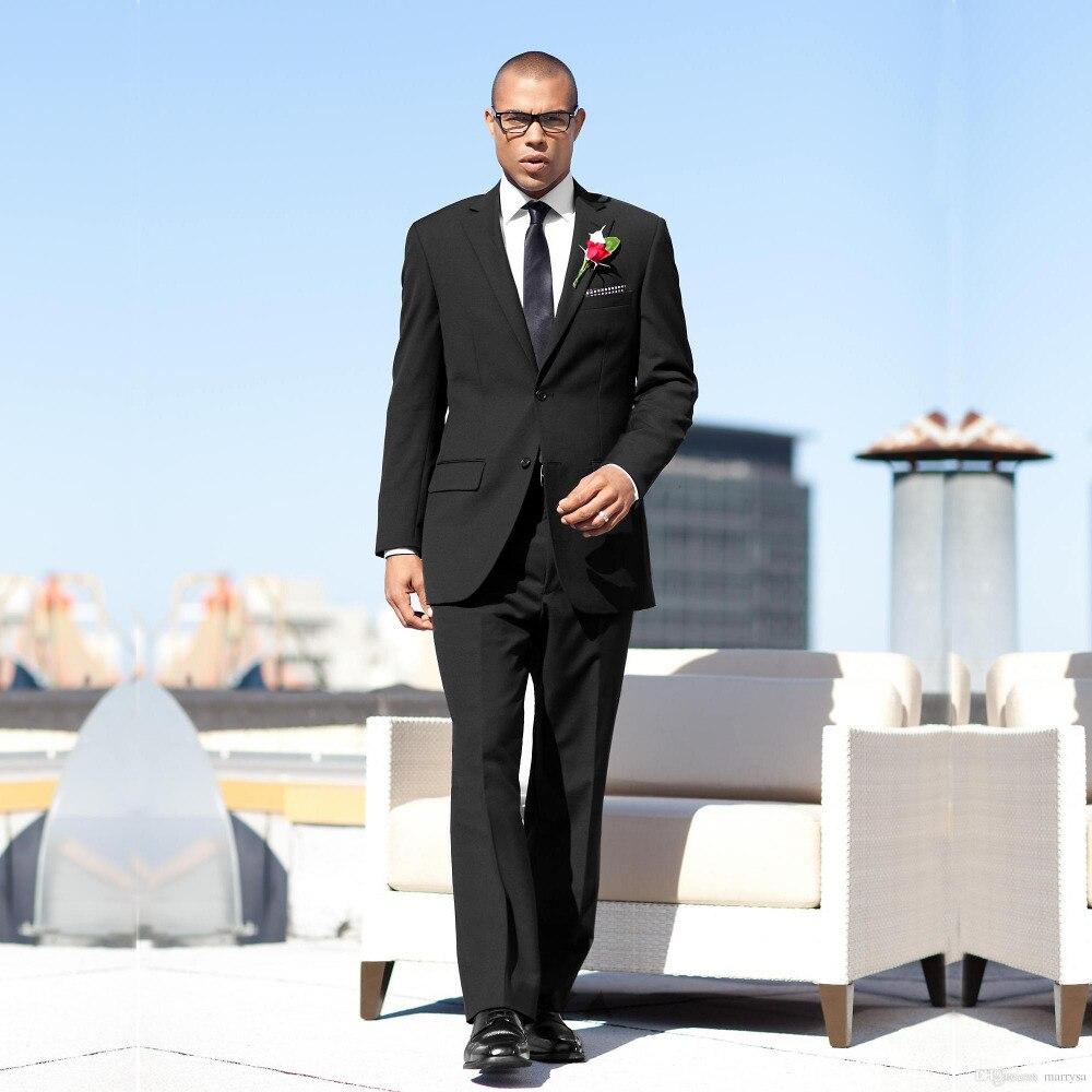 Cheap Black Suits for Men Promotion-Shop for Promotional Cheap ...