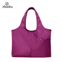 2017 New listing Women bag Big Capacity 42 * 26 * 14cm Mother handbag good quality Purple nylon shoulder bags female pouch Z346
