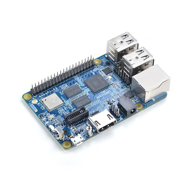 NanoPi K2 Development Board Quad-core Cortex-A53 1.5GHz  WiFi&Bluetooth+USB Cable+RC100 Remote Control=Nano Pi K2 Standard Kit micro usb high quality stm8s103f3 stm8 core board development board