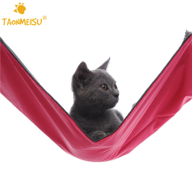 Oxford Hanging Bed for Small Pets Cat Kitten Puppy Rat Rabbit Ferret Chinchilla Hammock Small Dogs Cage Swing