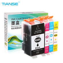 TIANSE 1Set ink cartridge for HP 920XL for HP 920 XL for HP920XL HP920 for HP Officejet 6000 6500 6500A 7000 7500 7500A printers