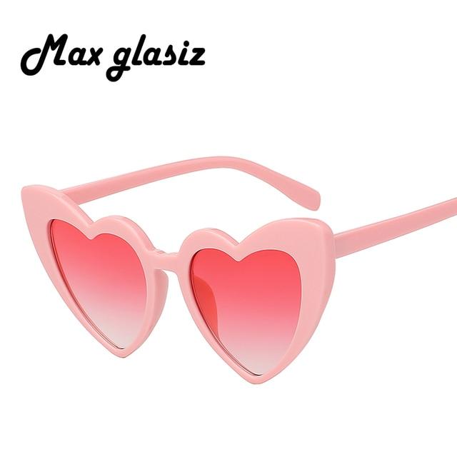 a09ca44130 2018 Women Luxury Brand Designer Sunglasses Cat Eye Vintage Butterfly  Shades Sun Glasses Heart Frame Eyewear UV400. Not in love ...