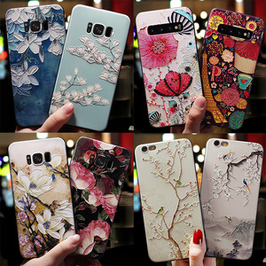 Silicone 3D Emboss TPU For Samsung Galaxy Note 9 10 4 5 8 9 A70 A40 A10 A30 A50 J5 J3 J4 J8 J6 J7 Plus Prime 2018 2016 2017 Case