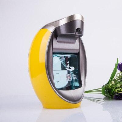 Casa hotéis de luxo inteligente espuma handwash dispensador de sabão automático sensor eletrônico mão desinfetante garrafa de espuma montado na parede - 3