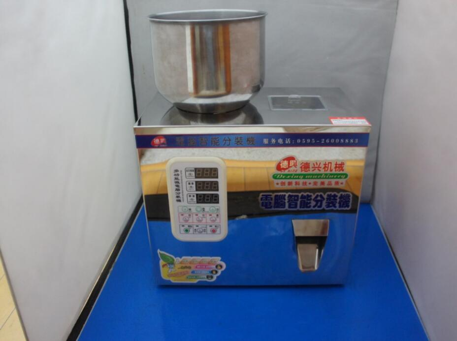 Automatic Food Weighing Packing Machine 1-50g Powder Granular Tea Hardware  Materials Filling Machine Double Vibrator Version