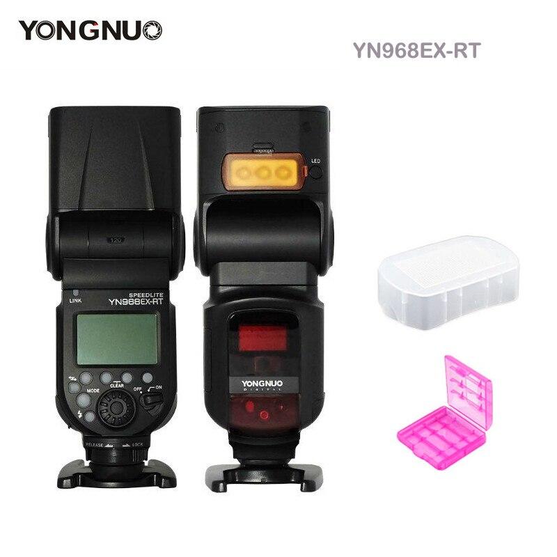YONGNUO YN968EX-RT ETTL Wireless Flash Speedlite con la Luce del LED Compatibile con YN-E3-RT YN600EX-rt per Canon 600EX-RT ST-E3-RT