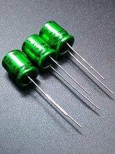 30 ШТ. Импортные Nichicon MUSE ES ВР 47 мкФ/25 В подлинная зеленый Обещание электролитический конденсатор 47 мкФ 25 В бесплатная доставка