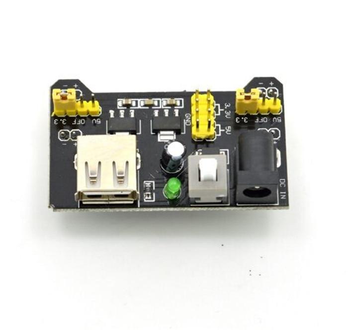 5pcsMB102 MB 102 Solderless Breadboard Power Supply Module 3 3V 5V for Arduino Board Diy Starter