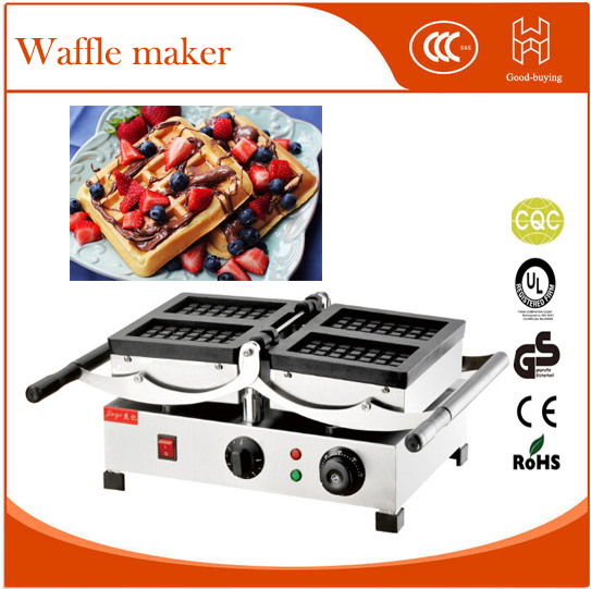 Freeshipping restaurant thicken Cafe waffle machine waffle maker
