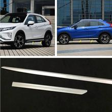 Yimaautotrims Side Door Body Molding Cover Trim Protective Fit For Mitsubishi Eclipse Cross 2018 2019