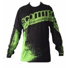 Черный мотокросса Джерси для мужчин camisetas motociclista Mayhem Lite Blocker/hi-viz Мотокросс Байк MX Джерси Велоспорт Горячая