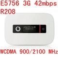 Desbloqueado huawei e5756 r208 3g 42 mbps router mifi hotspot móvil bolsillo 3g mifi HSPA dongle e5756s-2 pk e5331 e5336 e587 e5776