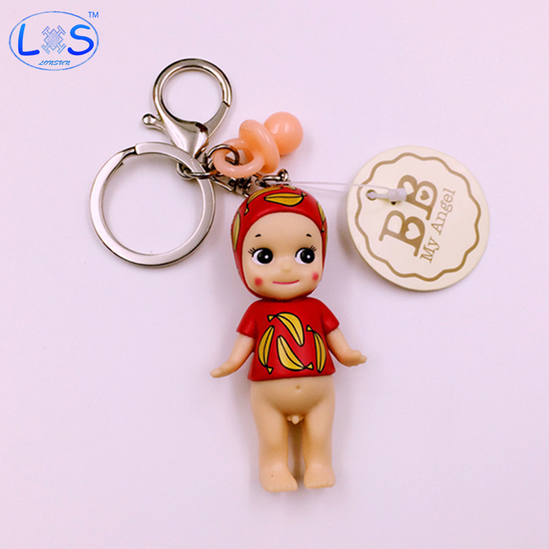 New Arrival Japan Sonny Angel Super Cute Baby Elephant Doll Keychain Pendant For Bag Charms Gift Children Girls Boys Toy super cute plush toy dog doll as a christmas gift for children s home decoration 20