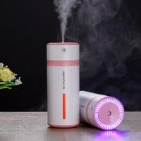2017 Mini Aroma Essential Oil Diffuser 230ML USB Car Humidifier Ultrasonic Humidifier Aromatherapy Mist Maker