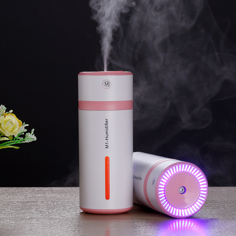 230ML Mini Air Humidifier USB Ultrasonic Humidifier Car Aroma Diffuser Electric Essential Oil Diffuser Cup 7 Color LED Lights230ML Mini Air Humidifier USB Ultrasonic Humidifier Car Aroma Diffuser Electric Essential Oil Diffuser Cup 7 Color LED Lights
