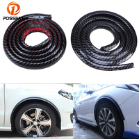 Hight Quality 1 5m Imitation Carbon Fiber Wheel Lip Car Protect Decoration Strip Mudguards Mud Guard