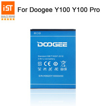 2019 New 100% IST Original Mobile Phone Battery For Doogee Y100 Y100 PRO Valencia2 High Quality Replacement Battery With Gift