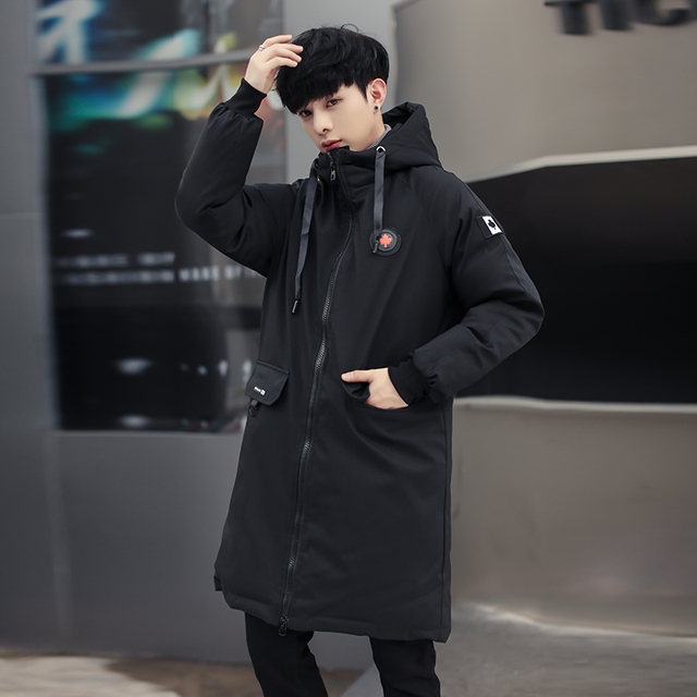 long parkas winter jacket men 2020 New warm Windproof Casual Outerwear Padded Cotton Coat Big Pockets High Quality Parkas Men 2