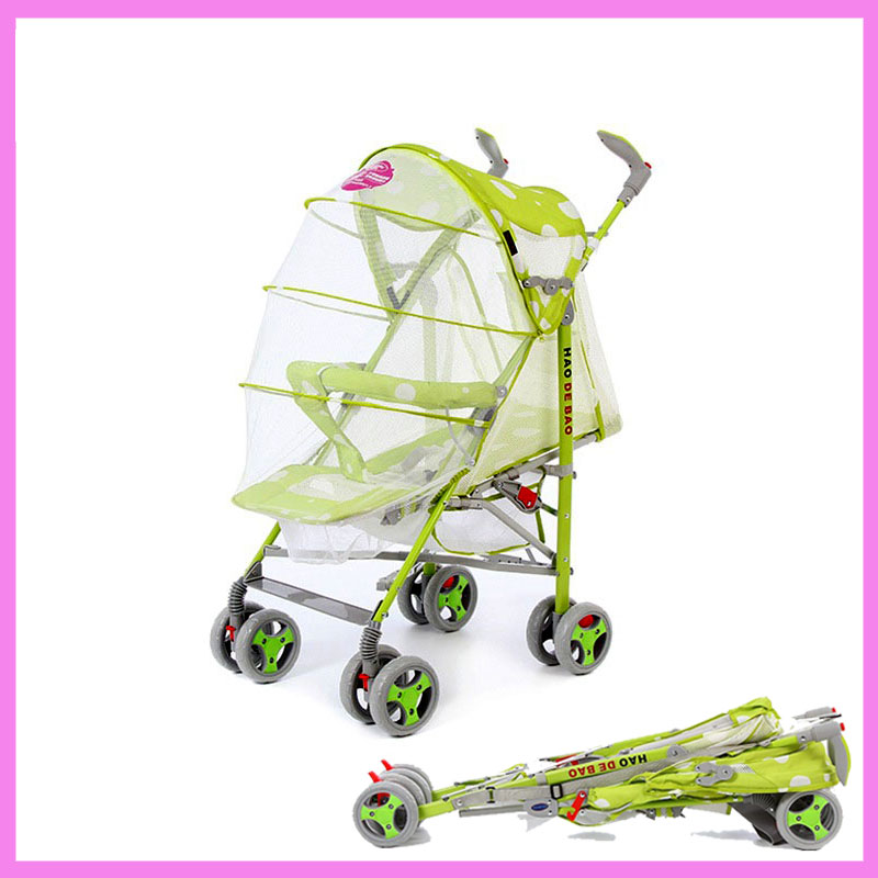 Portable Ultra Lightweight Baby Stroller Car Baby Carriage Folding with Mosquito Net Light Umbrella Pushchair Pram Buggy 6 M~3 Y