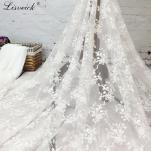 High Quality 1yard/2yards Net Lace French Voile Guipure tulle mesh Fabric For wedding Nigerian Party dress Accessories
