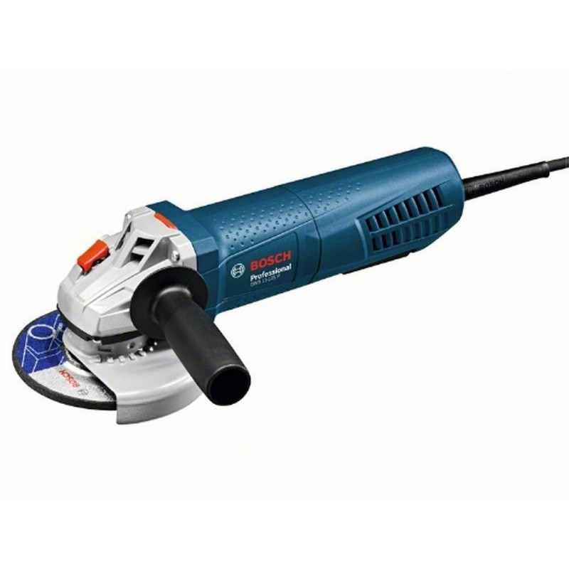 BOSCH 0601792202 Miniamoladora <font><b>men</b></font> <font><b>Dead</b></font> GWS 11-125 P Professional 1100 W 125mm 11500rpm <font><b>Switch</b></font> HM 2,3 kg + Cardboard Box image