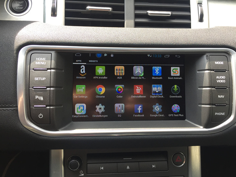 Android Auto Stereo Radio Audio Sat Nav Infotainment für Jaguar XE XF XJ XEL XFL XJL F-Tempo Freelander entdeckung 2016 2017 2018