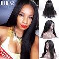 Прямые волосы парики человеческих волос парики для чернокожих женщин Glueless перед парики человеческих волос, Передняя парик мокрой и волнистые