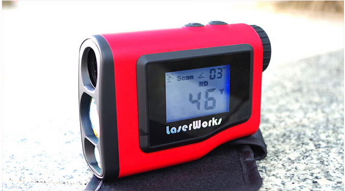 Waterproof 600M Golf Laser font b Rangefinder b font Laser Distance Meter With External LCD Display