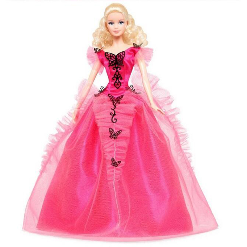Muñeca Barbie mariposa Ylamour Edición limitada de coleccionista X8270 Barbie juguetes mejor regalo para niña-in Muñecas from Juguetes y pasatiempos    1