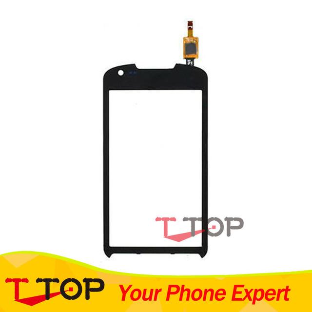 1 Pc/lote Preto Toque Digitador Da Tela de Toque De Vidro Substituição Do Painel Para Samsung Galaxy Xcover 2 S7710
