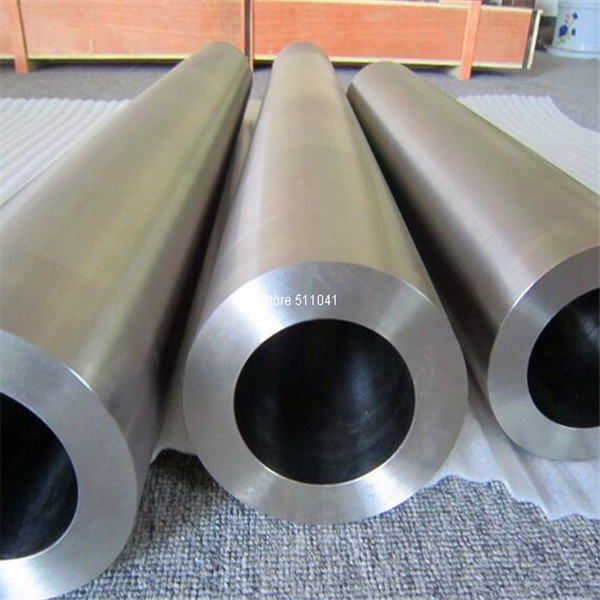 1pc GR5 grade5 titanium alloy tubing 85*10mm*1000mm titanium tube,gr5 titanium pipe ,free shipping gr5 titanium tube grade5 titanium thread tube od32mm 28mm id 550mm long free shipping