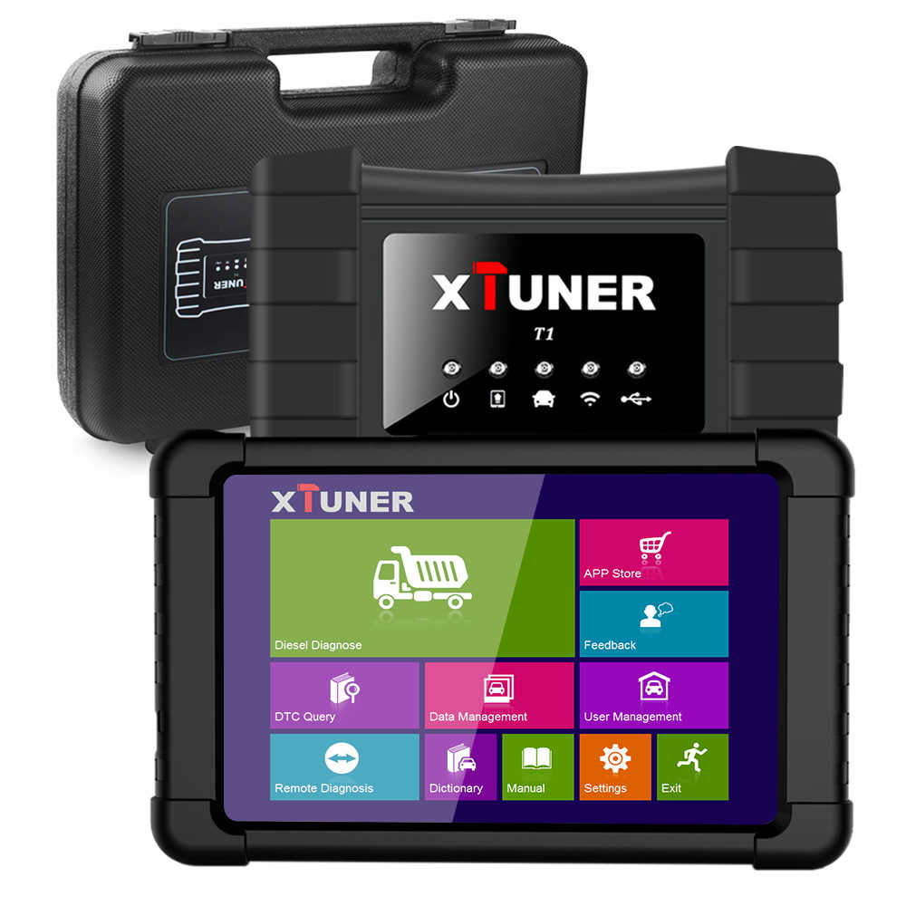 Detail Feedback Questions about XTUNER T1 Wifi OBD 2 Truck