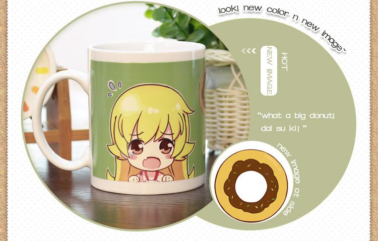 Creative Anime Monogatari Oshino Shinobu Color Changing Mug 280ml ... bad5f2b86ca1