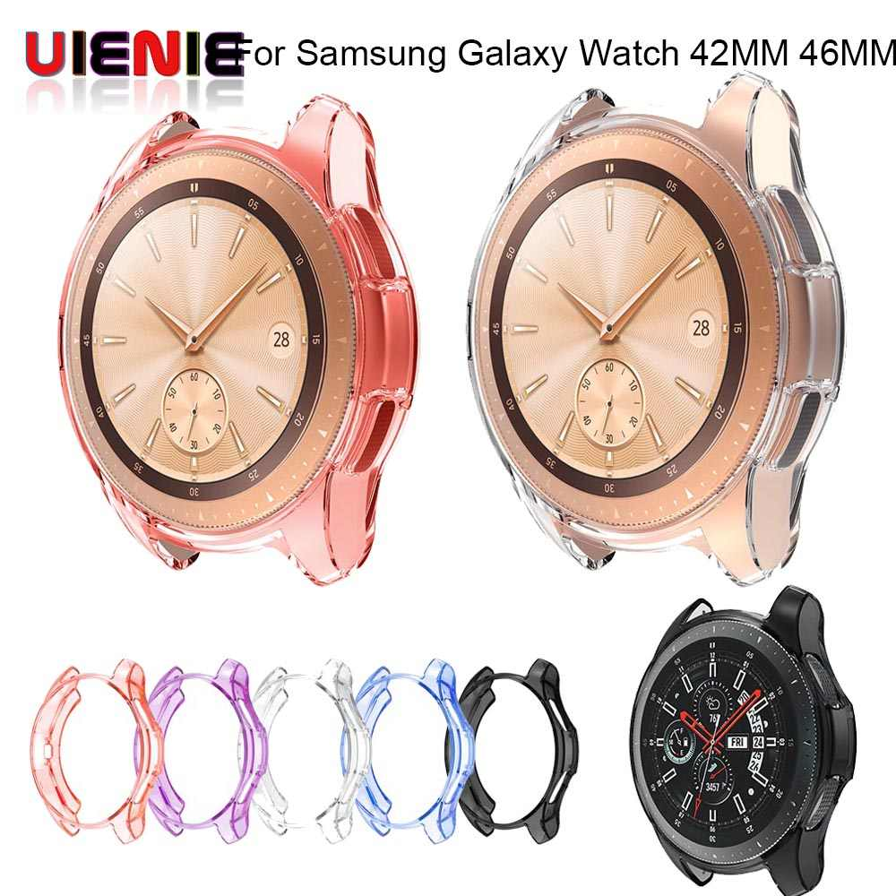 c36c6ded5c4 New Protective Case For Samsung Galaxy Watch SM-R810 42mm 46mm Smart Watch  accessories Plating