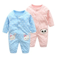 2016 Baby Romper Infant Jumpsuit Cotton Children Underwear Baby Clothing Coveralls Baby Girl Clothes Long Sleeved