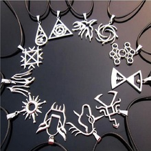 2017 New Leather Necklace, Korea EXO's Popular Combination Chris Lujan TAO Necklace Wholesale For Women