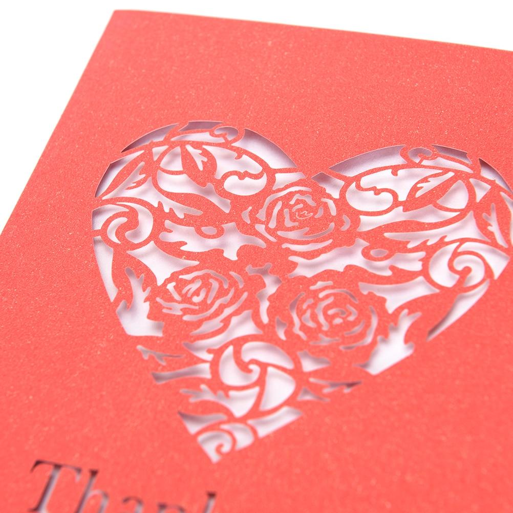 1pcs Wedding Invitations Paper Blank Inner Sheet Hollow Birthday ...