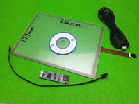 New 10 4 Inch 4 Wire Resistive Touch Panel Digitizer Driver Board 234mm 179mm For CAR