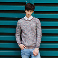2017 Autumn Winter Men Sweaters and Pullovers Long Sleeve  Casual christmas Sweater Knitted Male Sweater XN045