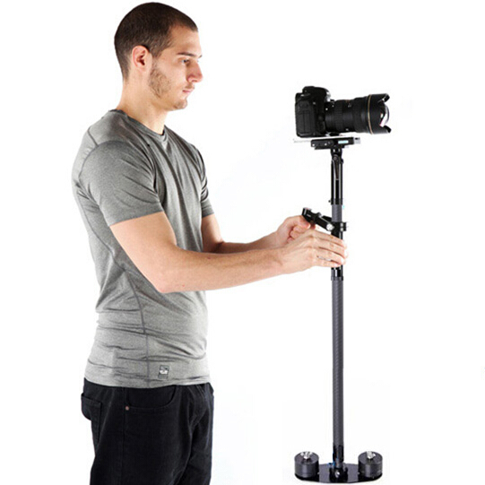 New head adjusting WONDLAN stabilizer MAG105 Carbon fiber handheld steadicam video camera steadycam DSLR steadycam mini jib ashanks mini carbon fiber handheld