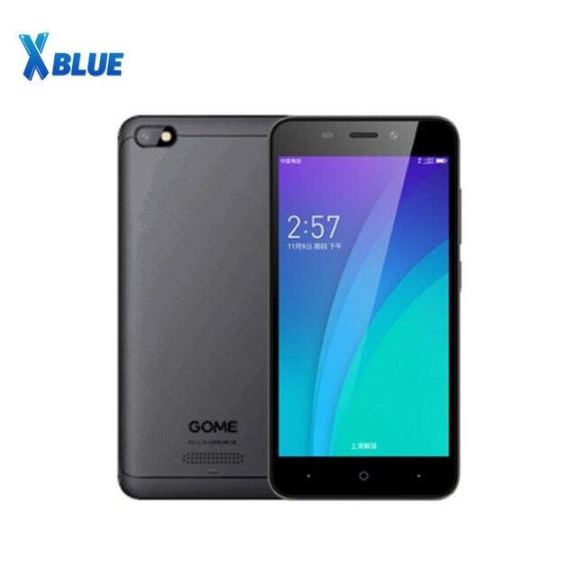 GOME C51 4G LTE Smartphone 2G RAM 16G ROM 5.0 pollici MSM8909 Quad Core 5.0MP + 2.0MP android 7.1 2000mAh Della Batteria Del Telefono Mobile