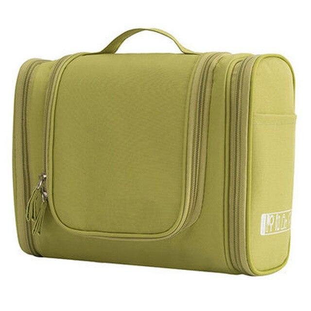 Waterproof Nylon Travel Organizer Bag Unisex Women Cosmetic Bag Hanging Travel Makeup Bags Washing Toiletry Kits Storage Bags