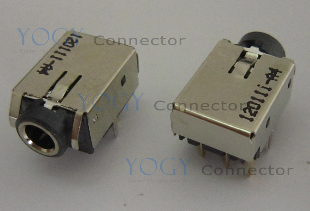 1pcs Female audion socket jack fit for hp 23-b010 all in one motherboard headphone connector