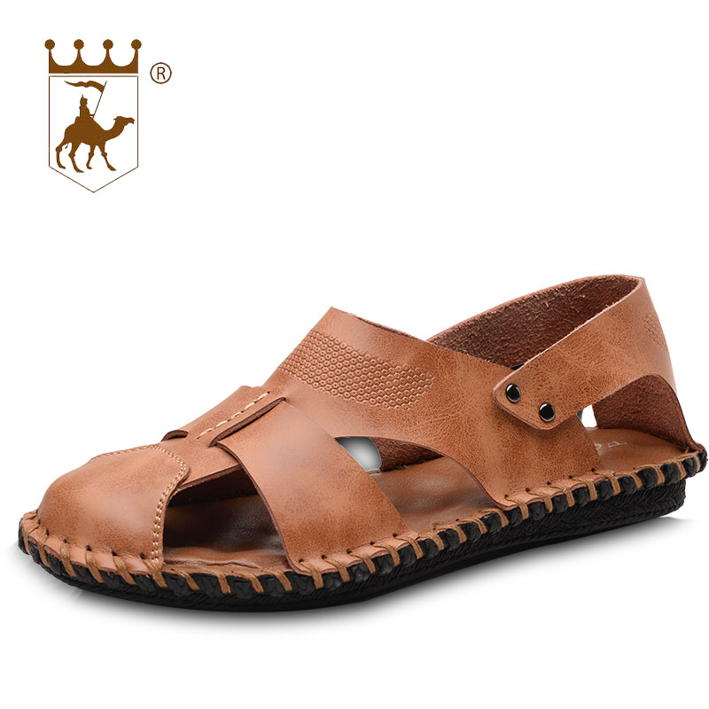 873e4a26b871 BACKCAMEL Woven Casual 38 Fashion Slippers Sandals Sandals Summer 44  Outdoor Beach Tide Quality Top 2018 ...