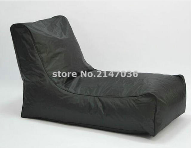 New Sofa Chair Waterproof Bean Bag In Polyester And Outdoor Sitting Relax Beanbag Cover Only