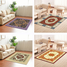 High quality Elegant American Rustic Floral bedroom Rug Modern European style pattern Carpets For Living Room Home Luxury carpet