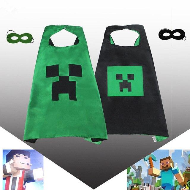 70cm Childrens Minecraft Halloween Costume Minecraft cape with ...