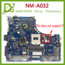 KEFU Y510P VIQY1 NM-A032 REV:1.0 Y510P laptop motherboard for Lenovo Y510P NM-A032 GT750/755 100% tested motherboard