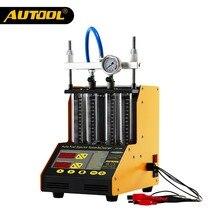 AUTOOL CT150 testeur d'injecteur de voiture nettoyage à ultrasons Auto injecteurs de carburant buse nettoyant pour véhicule 4 cylindres outil de Diagnostic